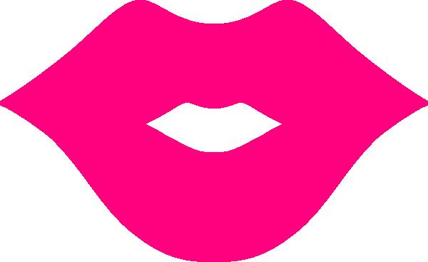 Pink Lips Clip Art At Clker Com Vector Clip Art Online Royalty Free