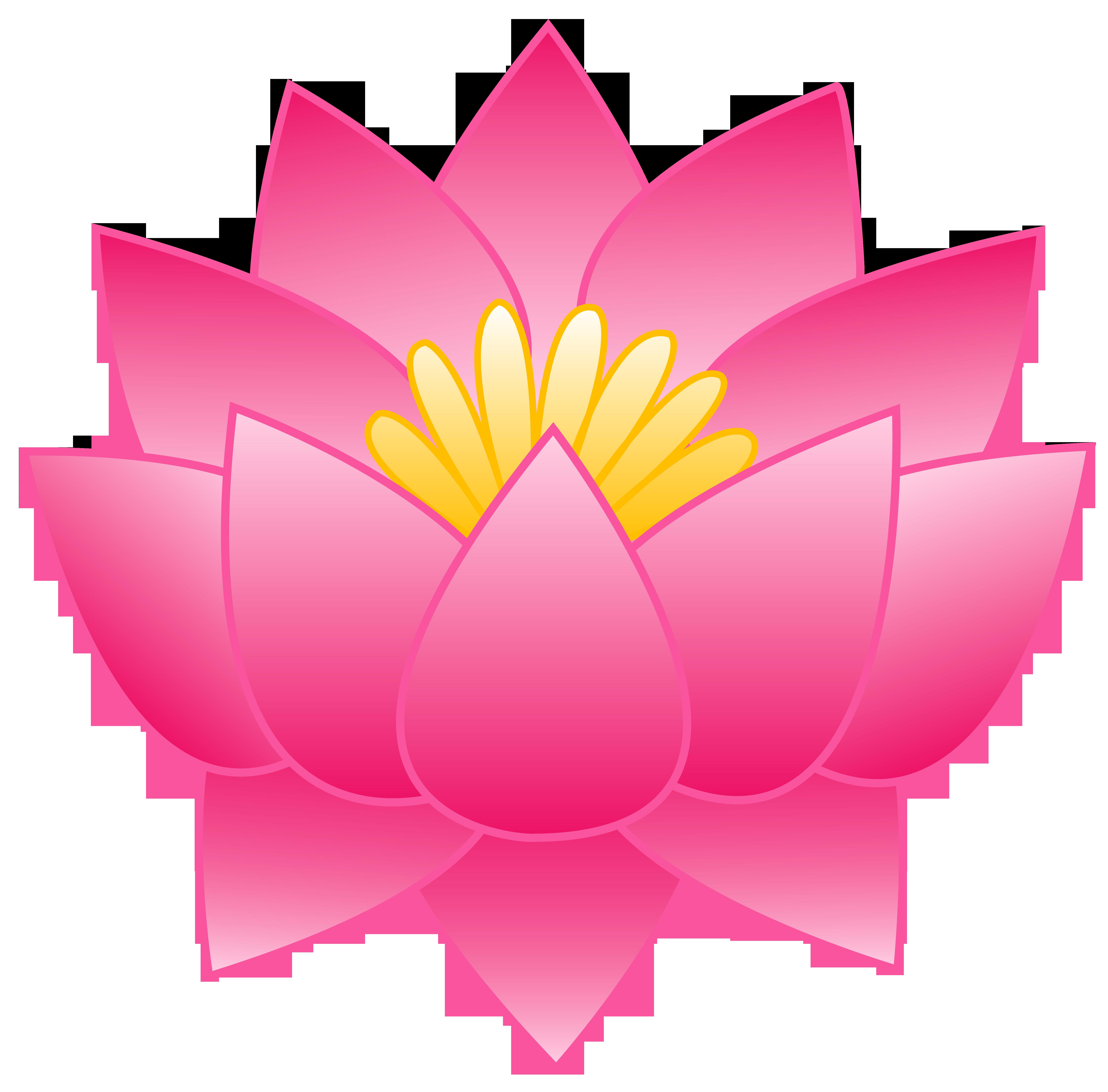 Pink Lotus Flower - Free Clip .