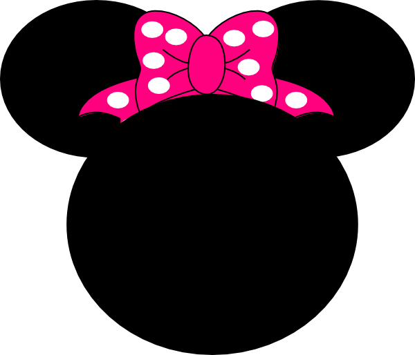 Pink Mouse Bow Clip Art - Vector Clip Ar-Pink Mouse Bow clip art - vector clip art online, royalty free .-18