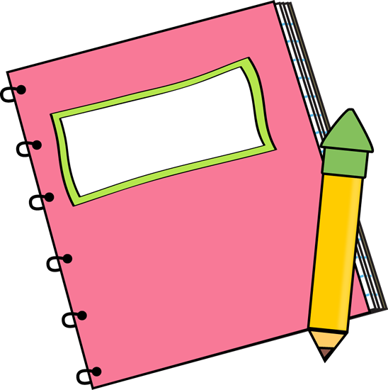 Pink Notebook with a Pencil-Pink Notebook with a Pencil-12