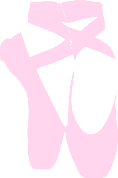 Pink Pointe Shoes Clip Art. Download Thi-Pink Pointe Shoes Clip Art. Download this image as:-14