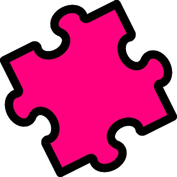Pink Puzzle Piece Clip Art At Clker Com -Pink Puzzle Piece Clip Art At Clker Com Vector Clip Art Online-4