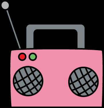 Pink Radio Clipart-Pink radio clipart-5