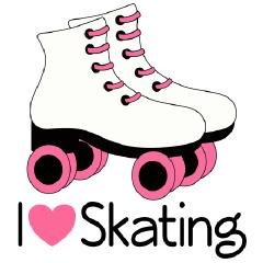 Pink Roller Skate Clip Art Http Www Homewiseshopperkids Com Shop