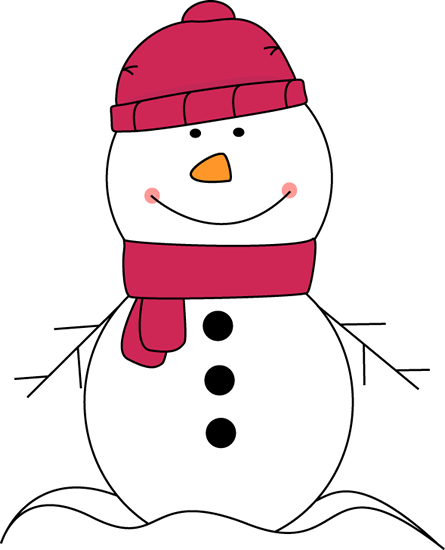 Pink Scarf And Hat Clip Art Snowman Wear-Pink Scarf And Hat Clip Art Snowman Wearing Pink Scarf And Hat Image-15