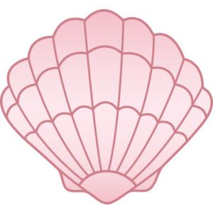 Pink Seashell Free Clip Art