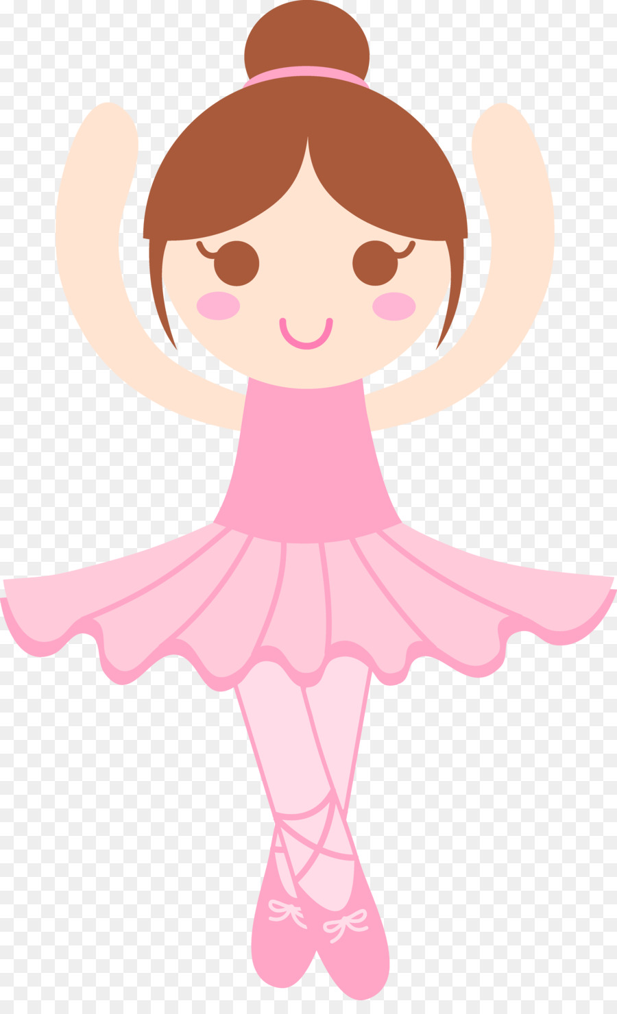 Ballet Dancer Drawing Clip Art - Pink Si-Ballet Dancer Drawing Clip art - pink singer-5