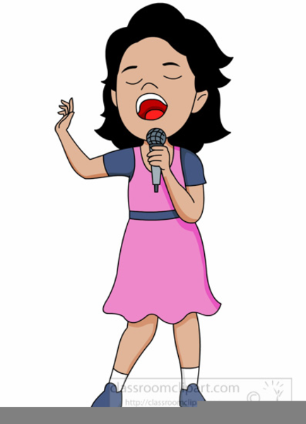 Female Singer Clipart | Free Images at Clker clipartlook.com - vector clip art online,  royalty free u0026 public domain