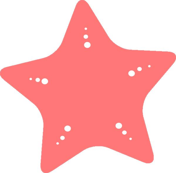 Pink Starfish Clipart