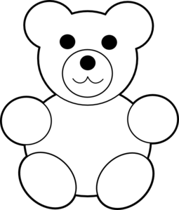 Bear Clipart Black And White Look At Clip Art Images Clipartlook
