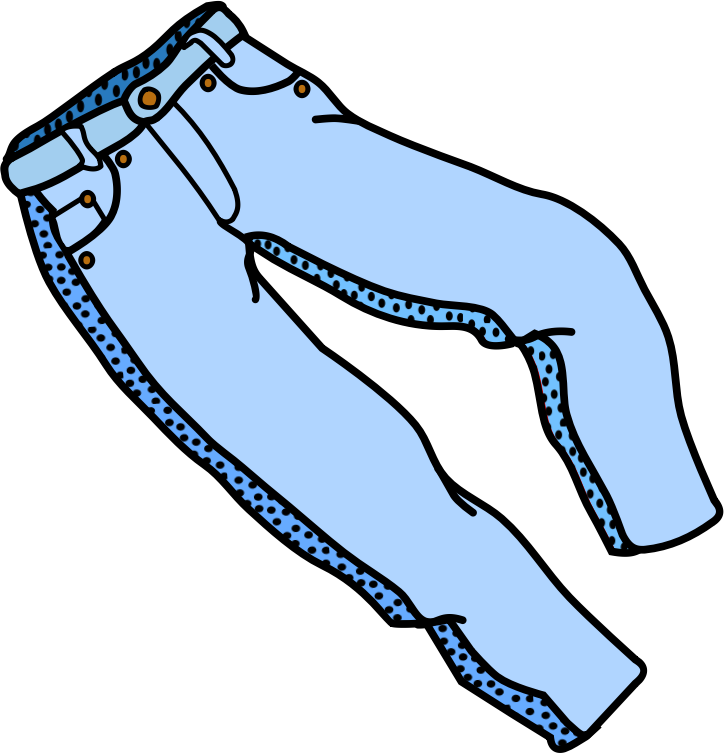 Pink Trousers Clip Art. Free .