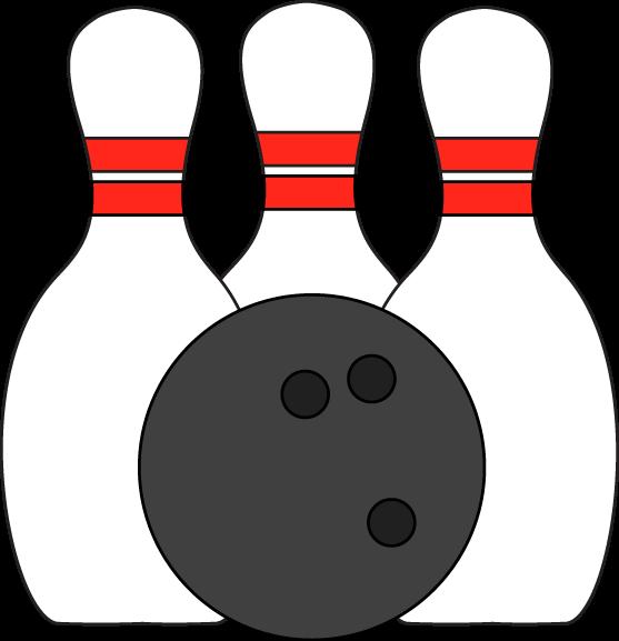 Pins And Ball Clip Art Image Three Bowli-Pins And Ball Clip Art Image Three Bowling Pins With A Bowling Ball-17