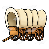 Pioneer Covered Wagon Clipart. Covered Wagon Covered Wagon .
