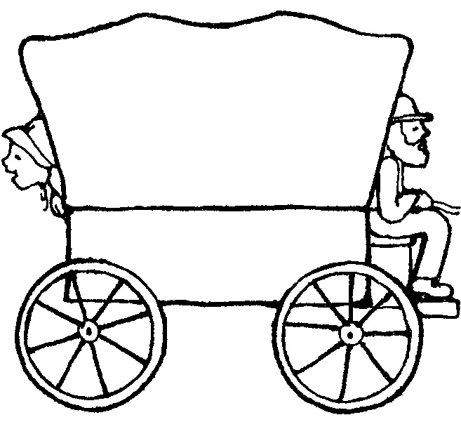 Pioneer Wagon Clipart-Pioneer Wagon Clipart-7