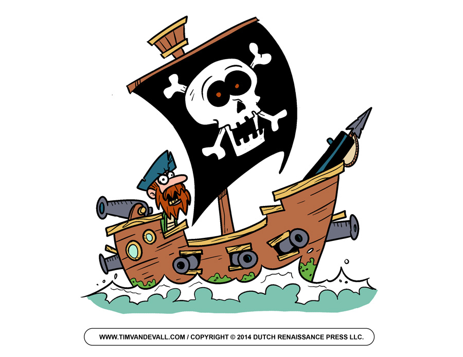 Pirate Clip Art Free Cartoon Pirate Images Pictures Jpegs For