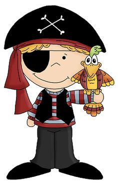 pirate clip art | Parties - Pirate | Pinterest | Clip art, Pirates and Cakes