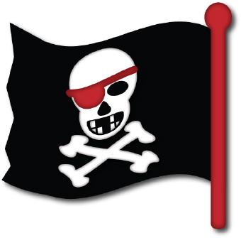 Pirate clip art-Pirate clip art-4