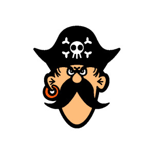 Pirate clipart free graphics  - Pirate Clip Art Free