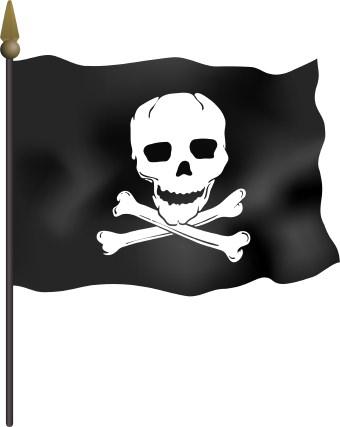 Pirate Flag Clip Art-Pirate Flag Clip Art-8