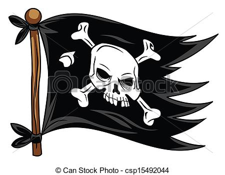 pirate flag EPS Vectorby ...