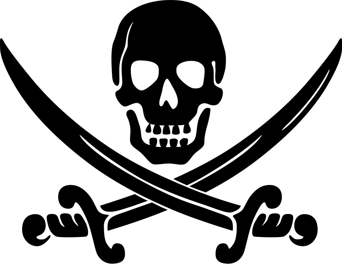 Pirate Flags Clipart .