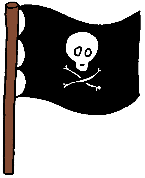 Pirate Flags Clipart Pirates