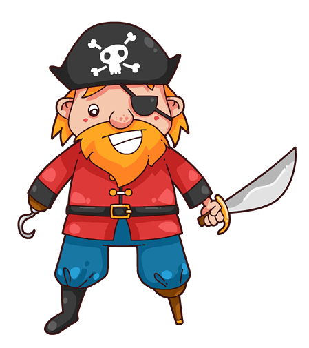 Pirate free to use clipart