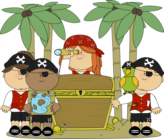 Pirate Kids - Pirate Clip Art Free