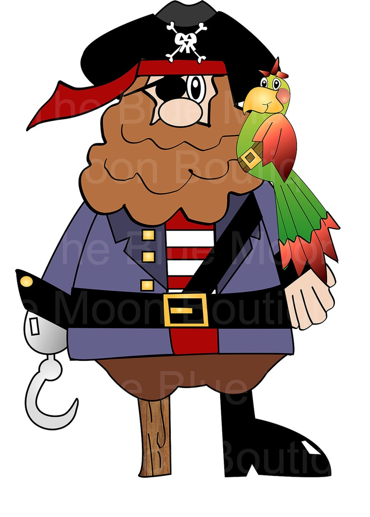 Pirate pete clipart set pirates pirates clip art clipartcow
