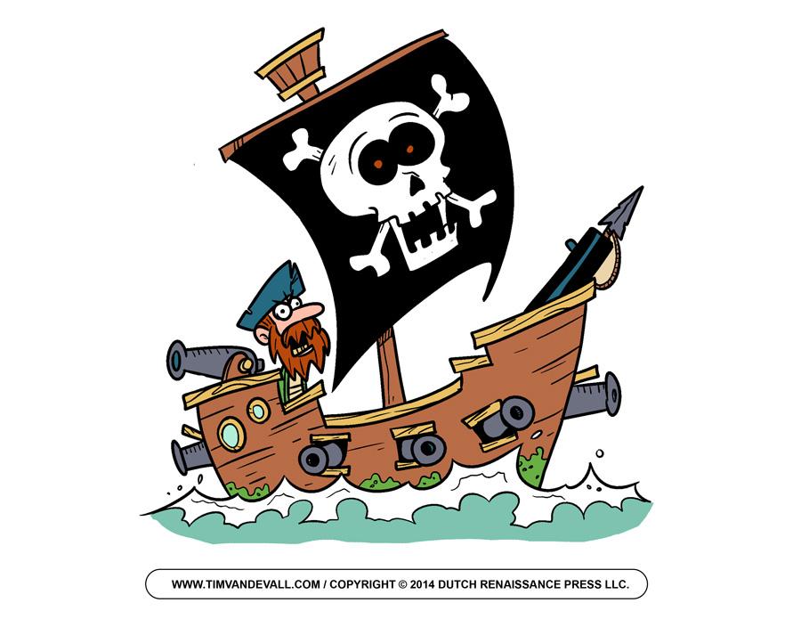 Pirate Ships Clipart Pirate S - Pirate Clip Art Free