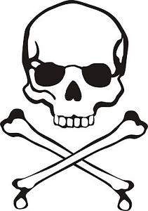 Pirate Skull And Crossbones Clip Art - clipartall ...