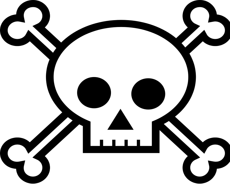 Pirate Skulls - Clipart Library-Pirate Skulls - Clipart library-13