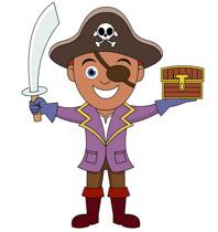 Pirate Symbol Skull Sword Clipart Size: 99 Kb