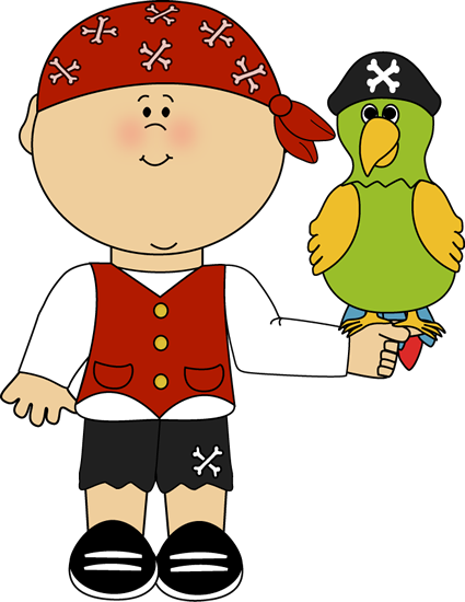 Pirate With Parrot Clip Art Image Boy Pi-Pirate With Parrot Clip Art Image Boy Pirate With A Parrot Sitting-13
