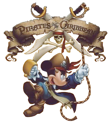 Caribbean Pirate Mickey