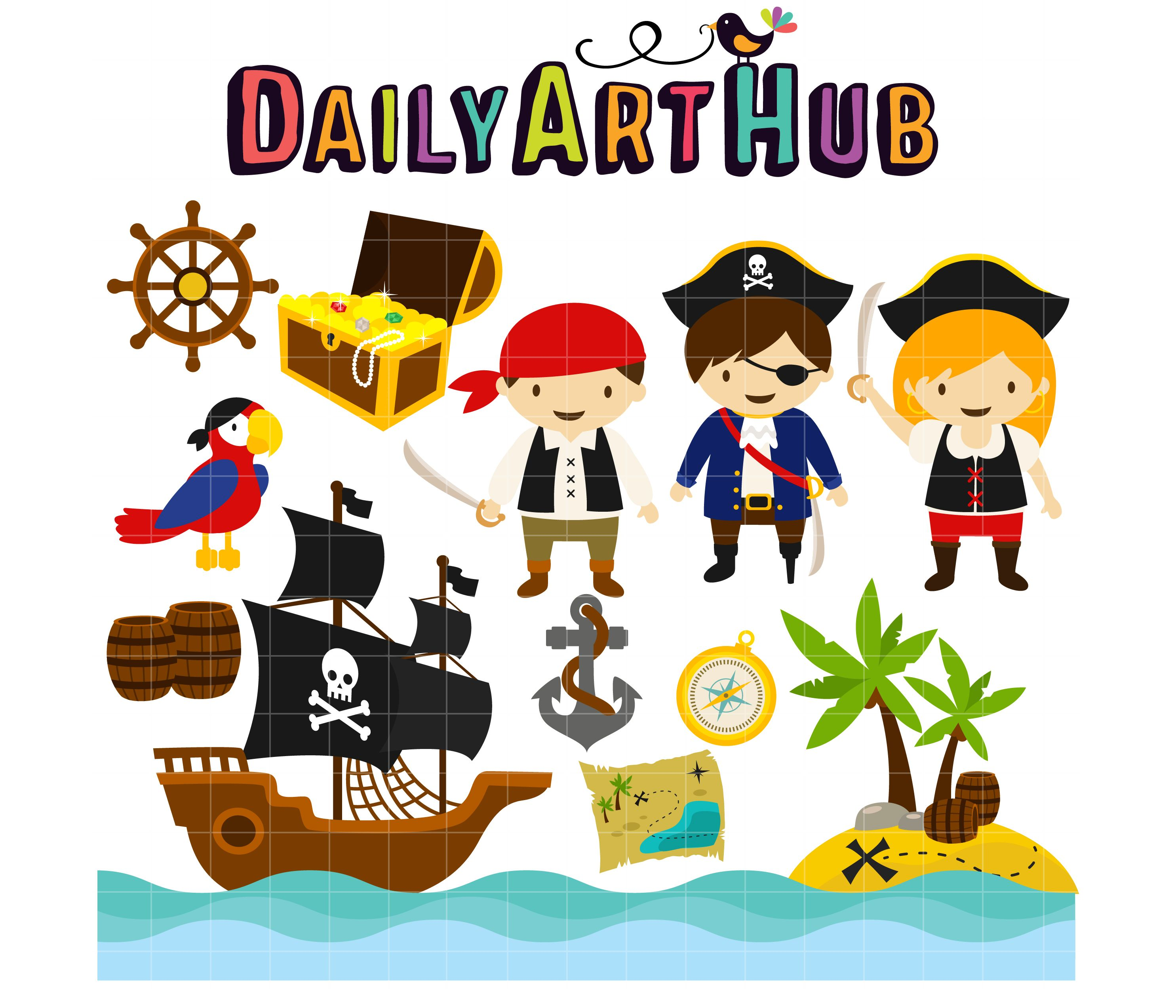 Clip art · Pirates in the Caribbean ClipartLook.com