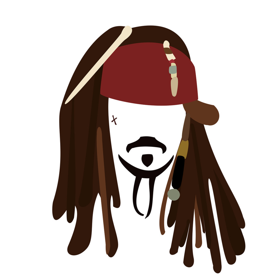 Jack Sparrow Disney Infinity Pirates of the Caribbean Clip art - sparrow