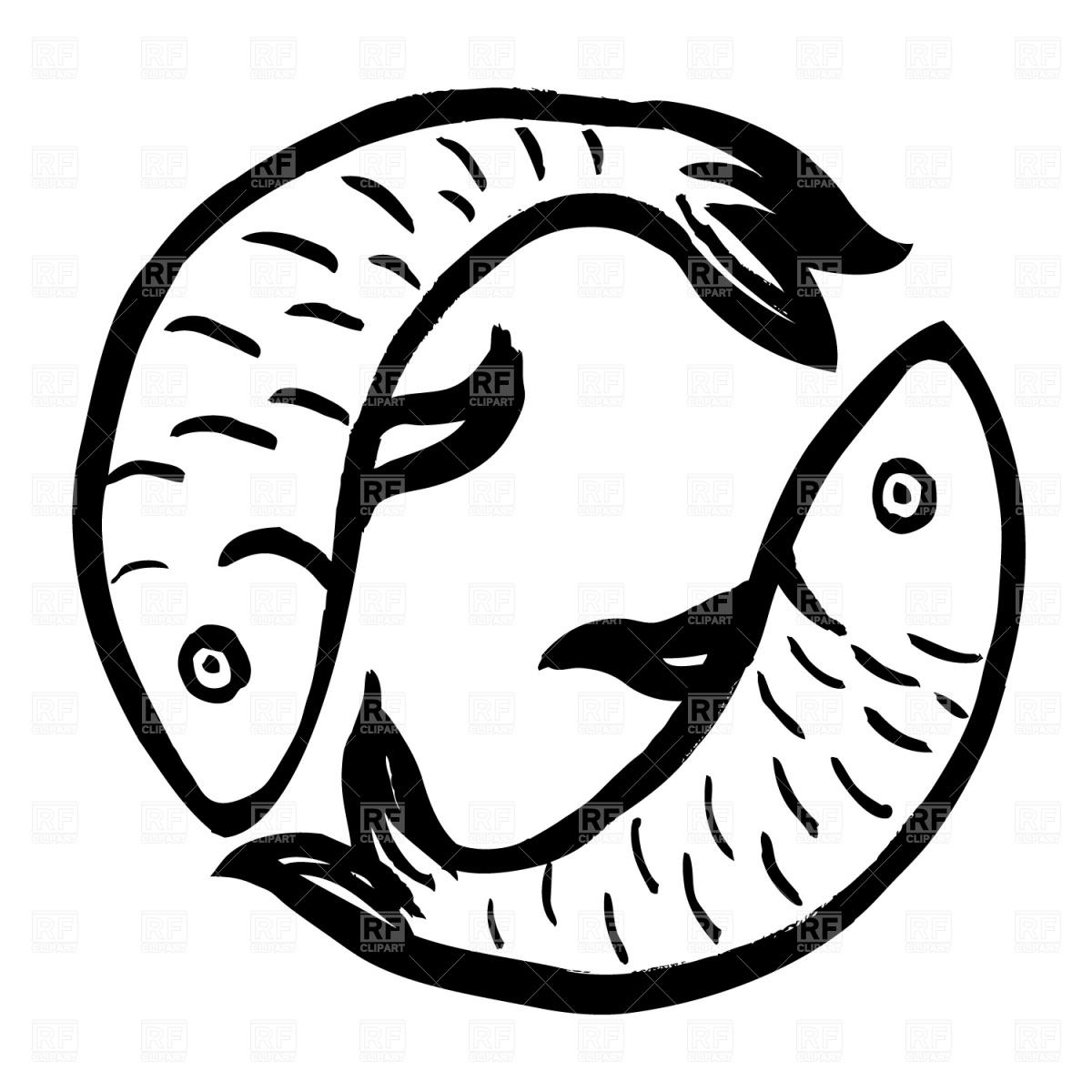 Pisces Royalty Free Vector Clip Art-Pisces Royalty Free Vector Clip Art-7