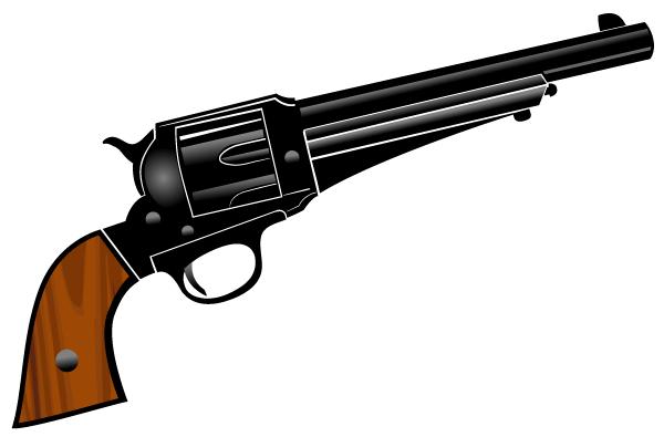 Pistol Vector Clipart-Pistol Vector Clipart-8