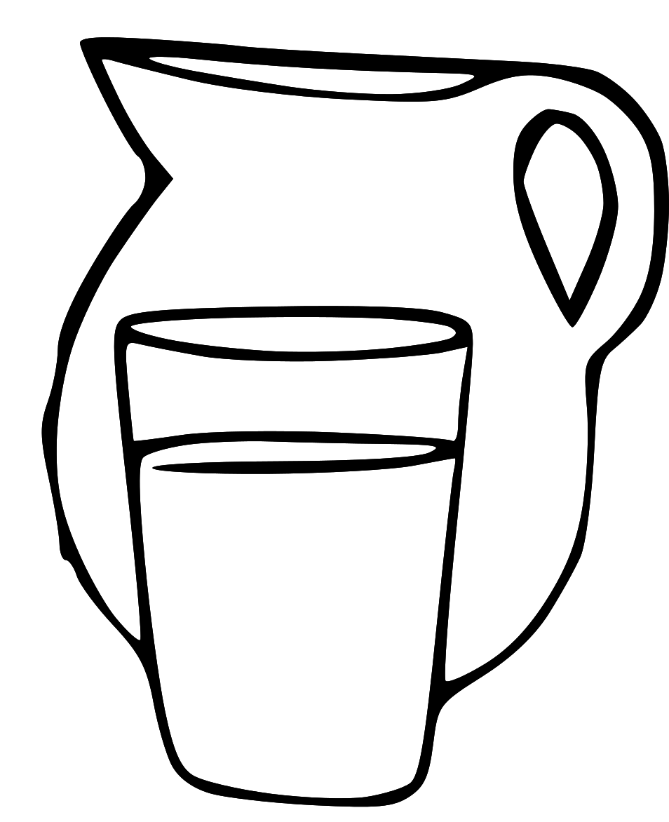 Pitcher Of Water Clipart
