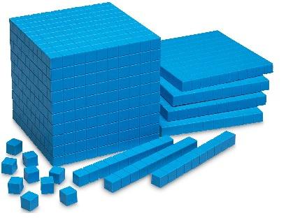 Pix For Base Ten Blocks Clip  - Base Ten Blocks Clip Art