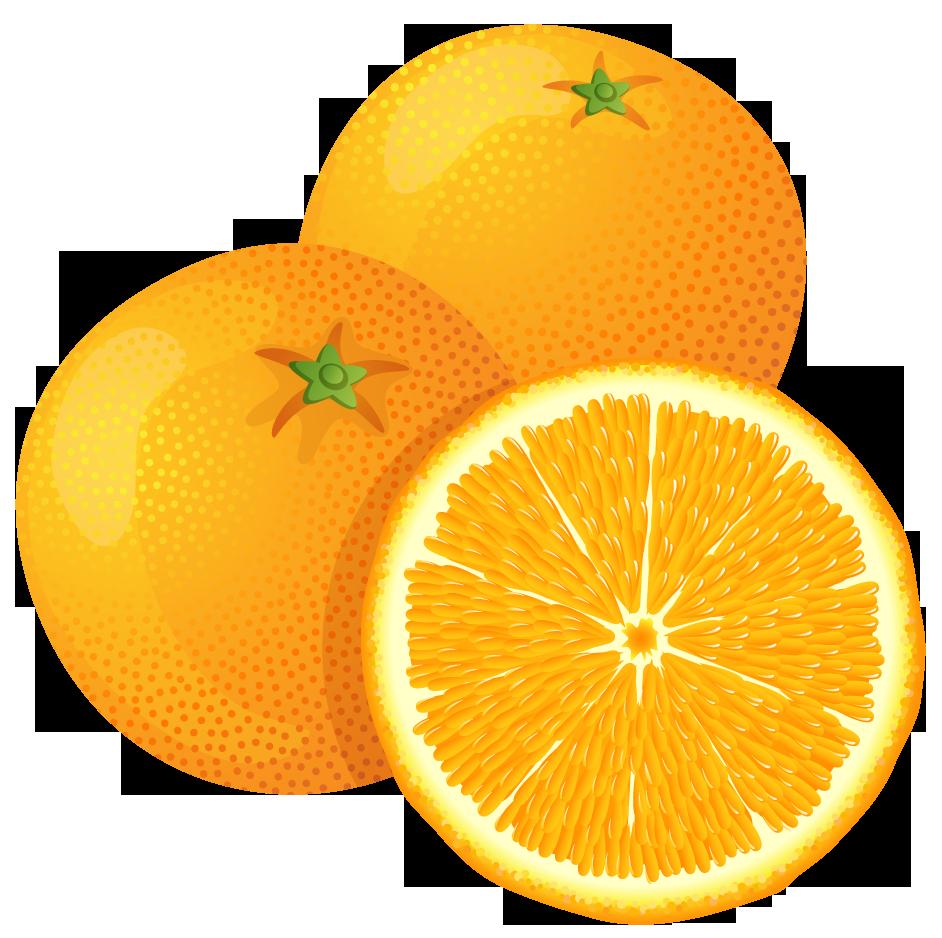 Pix For Clip Art Orange Fruit