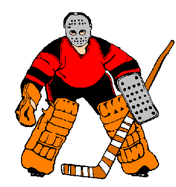 Pix For Ice Hockey Player Clipart