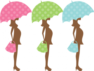 Pix For Pink Pregnant Silhouette Clip Art