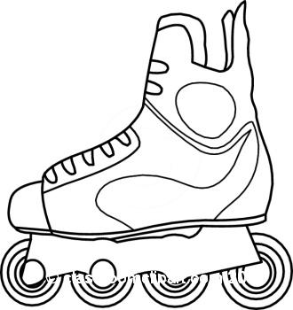 Pix For Roller Skate Clip Art