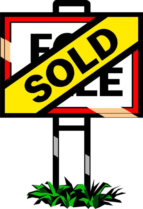 Pix For Sold House Sign Clipart