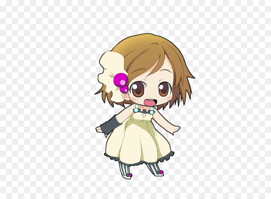 Chibi Anime Yui Hirasawa K-On! - Pixie L-Chibi Anime Yui Hirasawa K-On! - pixie lott-2