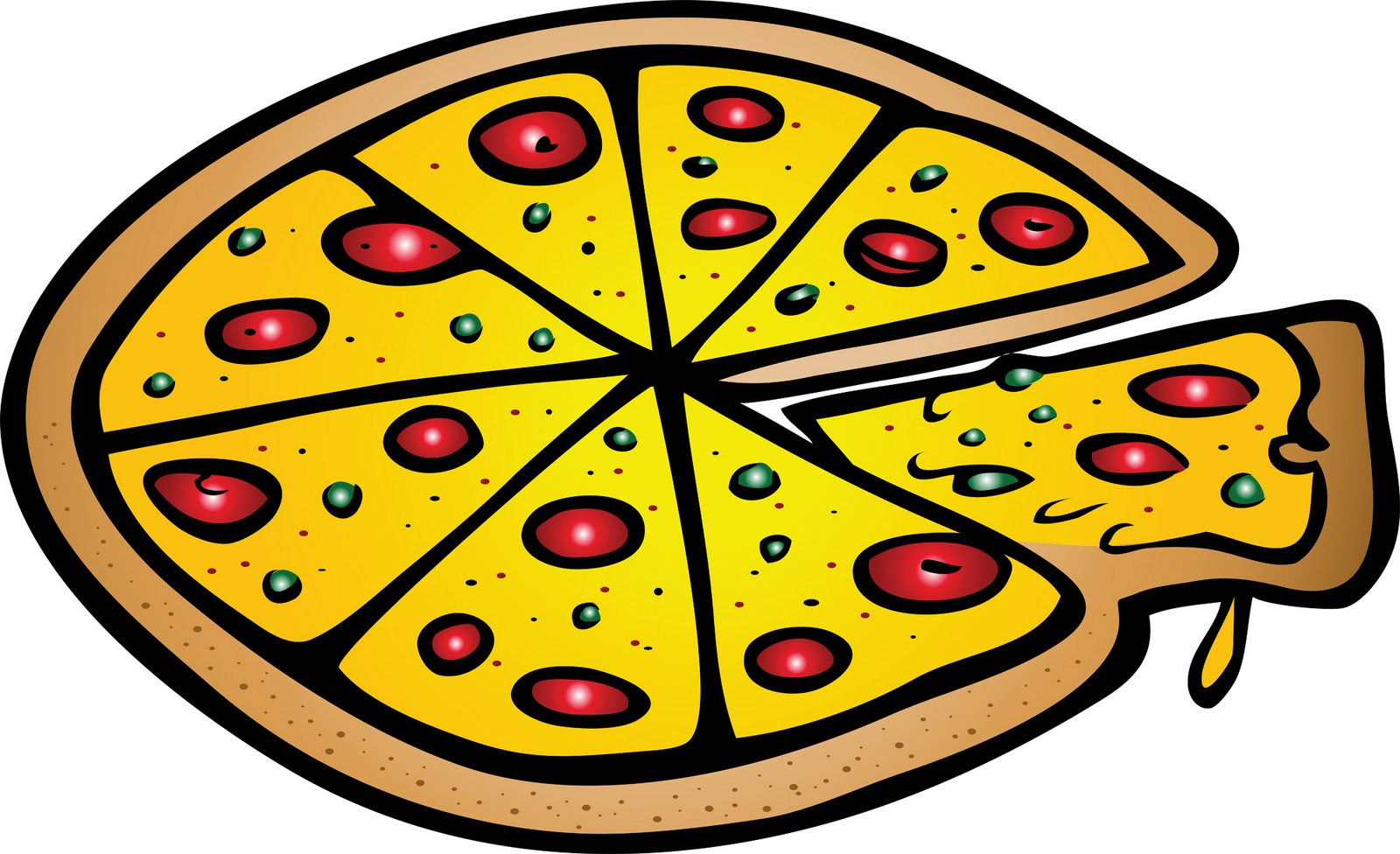 Pizza clip art - Cliparting clipartall.com
