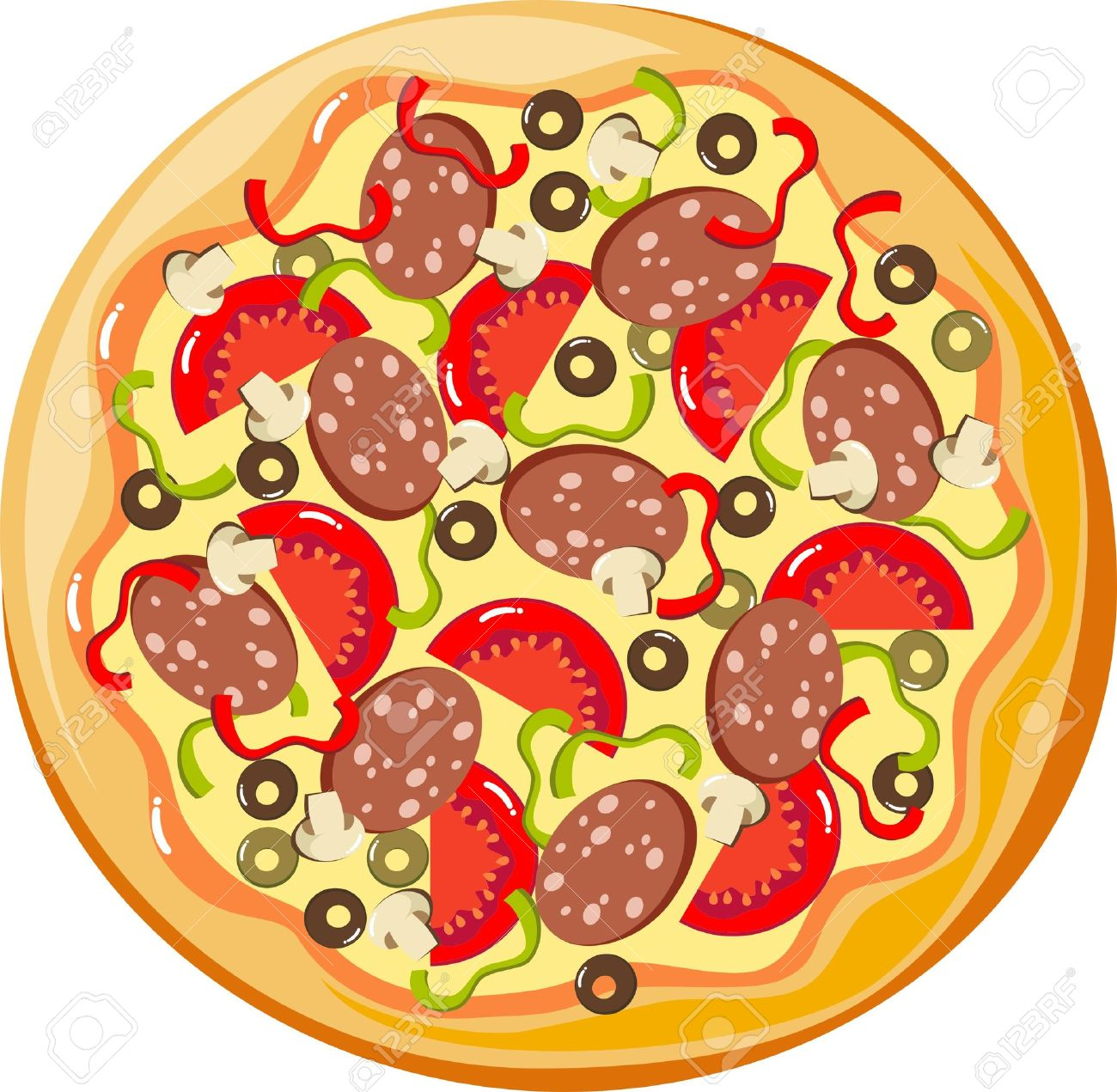 Pizza Free Cliparts Vectors .