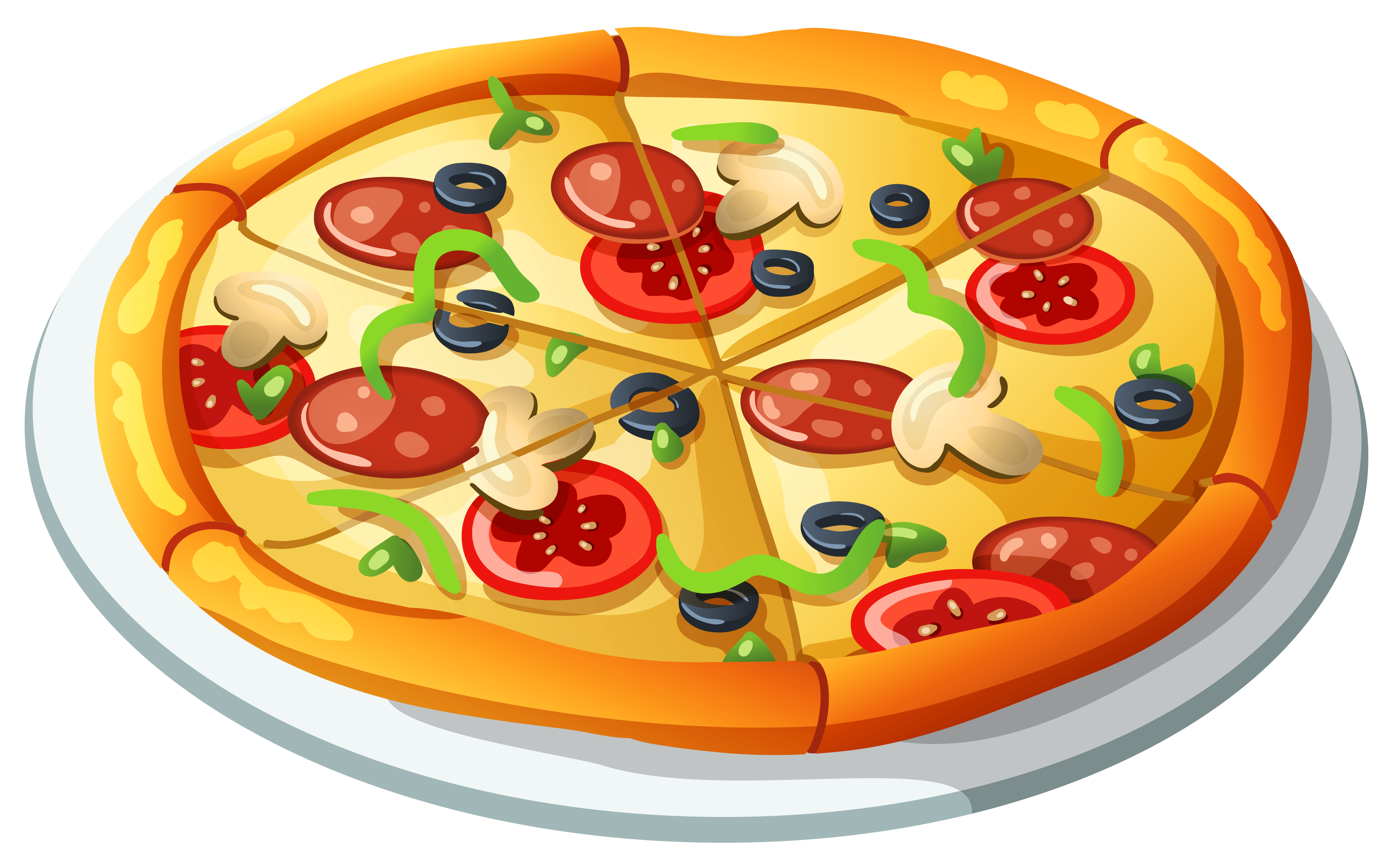 Pizza free to use cliparts 2